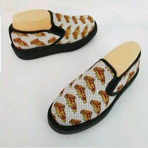 TUK Pizza Creeper Platform Shoes MENS Size 6 / EU